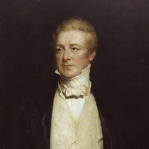 Sir Robert Peel - Detail of a portrait painting by Henry William Pickersgill