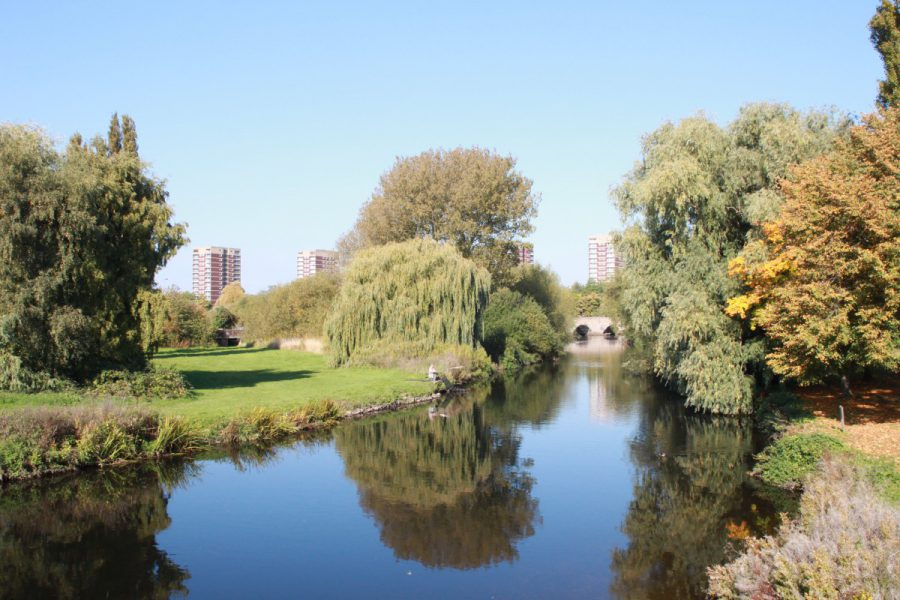 River Tame at Tamworth